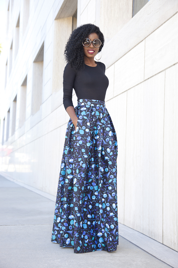 style pantry maxi skirt