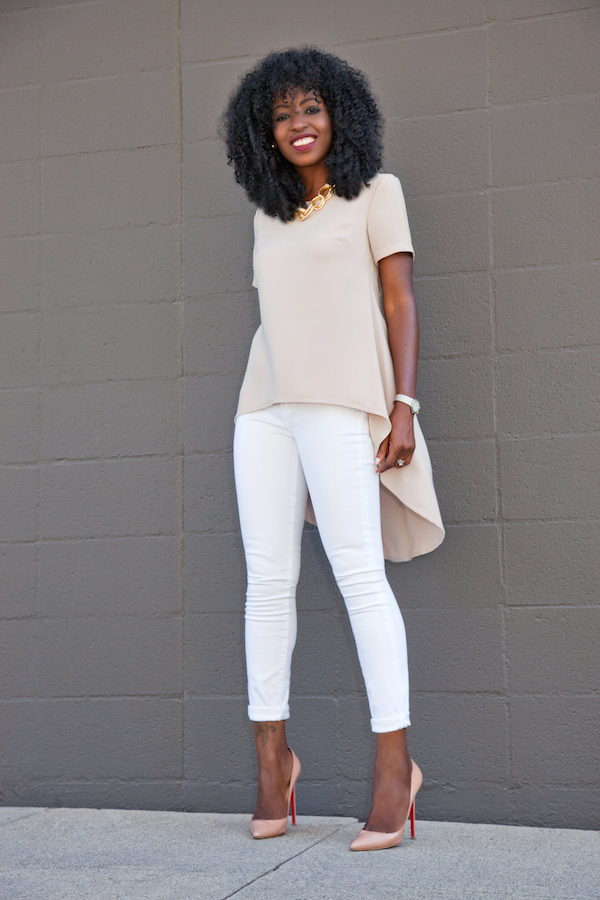 Style Pantry | White Skinny Jeans