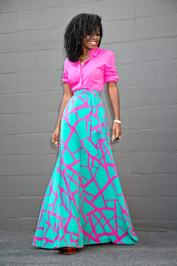 Style Pantry | maxi skirt