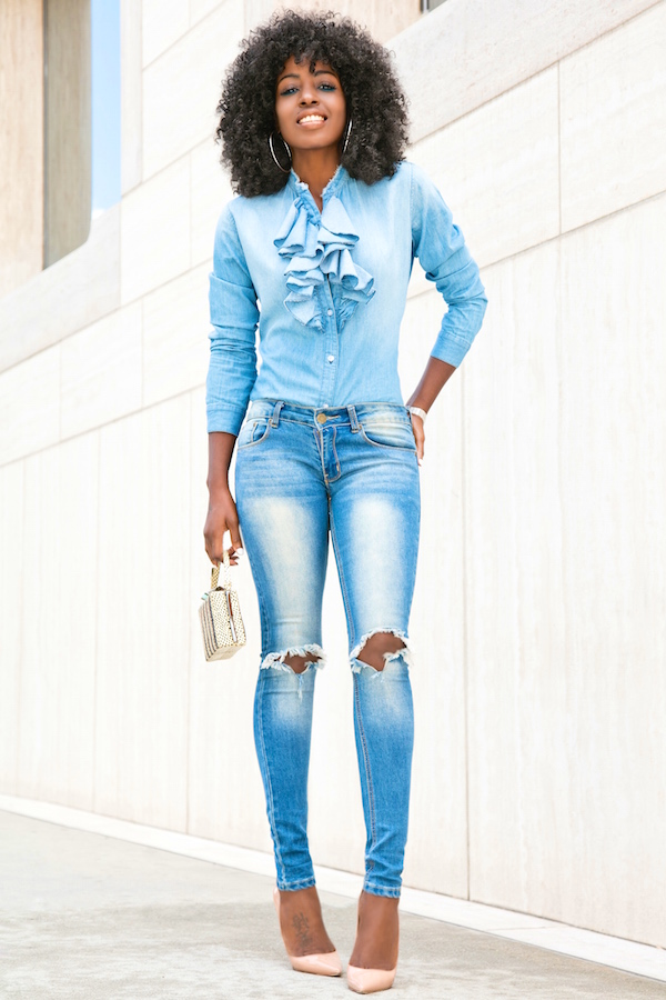 style pantry ripped skinny jeans