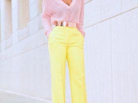 Cozy Knit + High Waist Wide Leg Pants