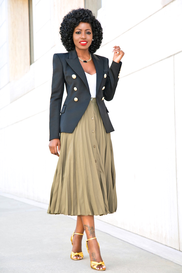 style pantry breasted blazer v neck