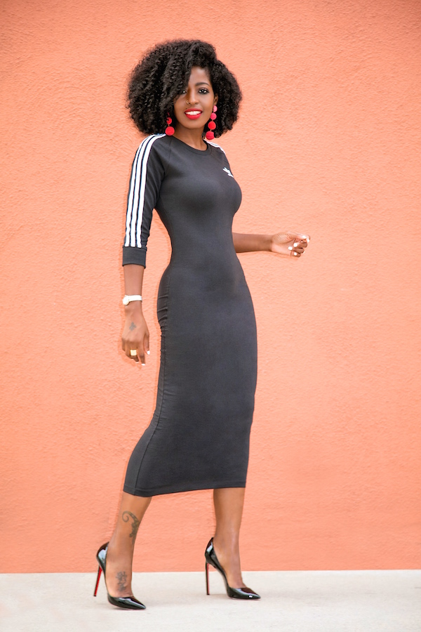7f3daf59304 Dress: Available here | Shirt: J. Crew | Shoes: Louboutin. Enjoy and have a  blessed weekend. xo