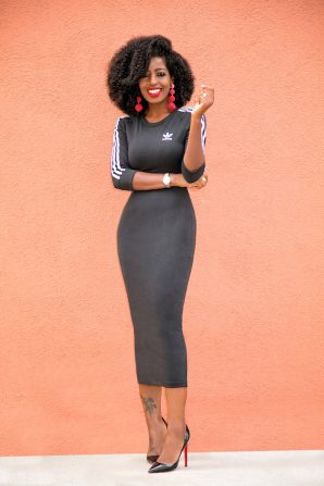 Adidas Originals Midi Dress
