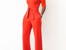 FKSP Folded Collar Jumpsuit