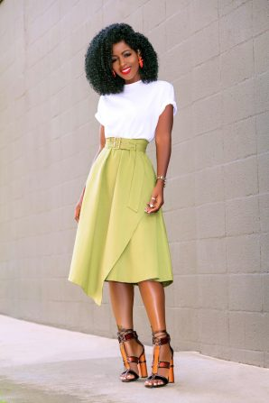 Military Belted Dress