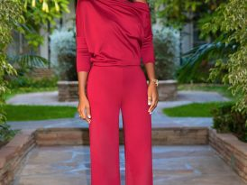 Slouchy Off Shoulder Jumpsuit