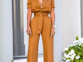 Coco Button Down Jumpsuit