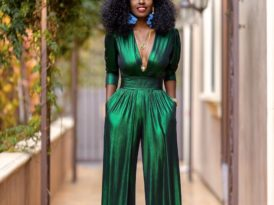 Emerald V-Neck Jumpsuit