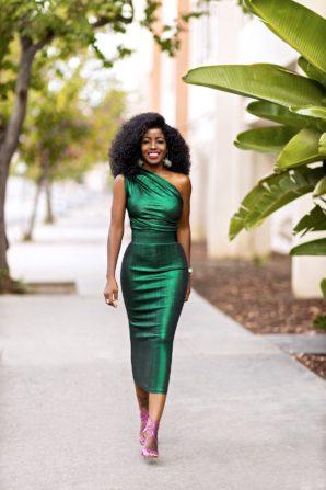 Metallic Emerald One Should Dress